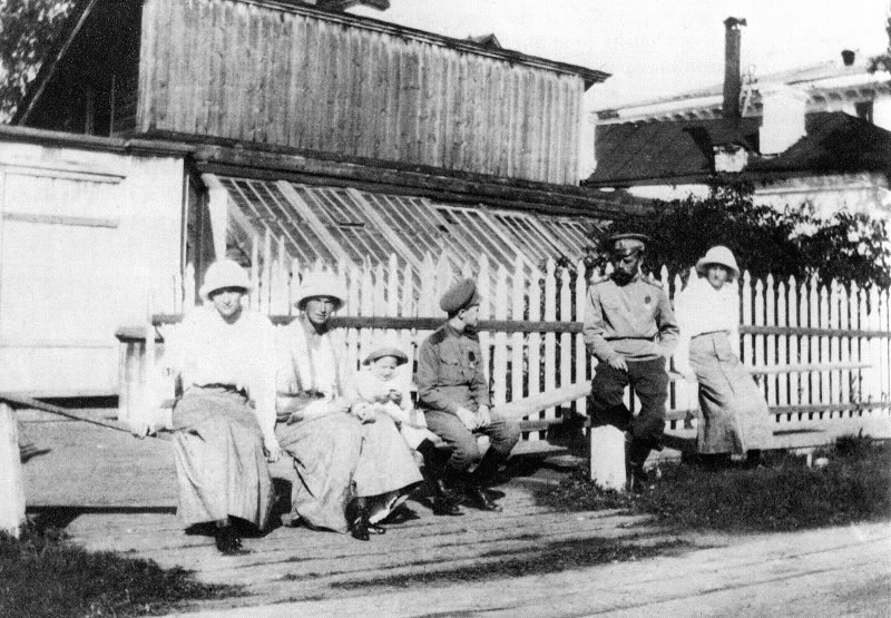 In Captivity at Tobolsk