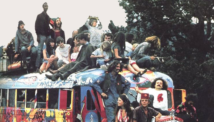 Hippie Buses And Free Drugs