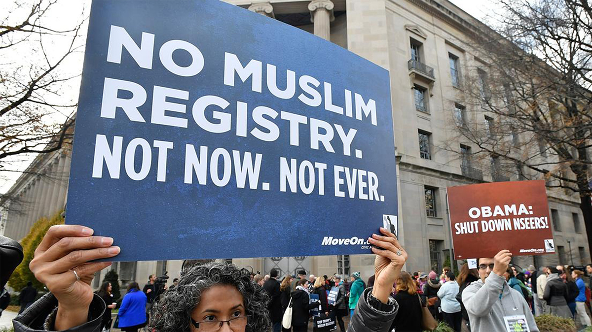 Tech Workers Say 'No' to Muslim Registry