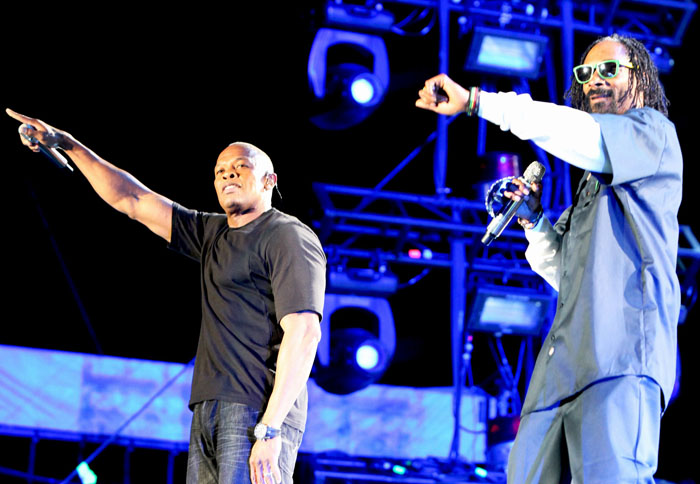 Dr. Dre and Snoop Dogg Performed With…