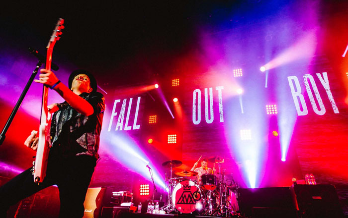 Fall Out Boy Performed With…