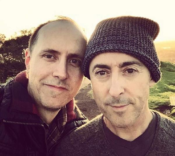 Alan Cumming and Grant Shaffer