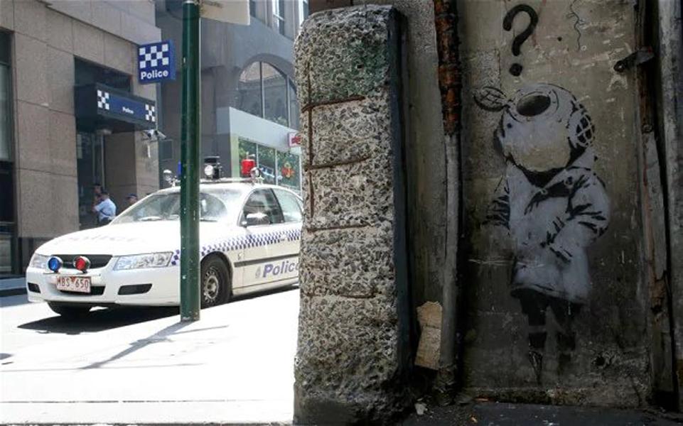 Is Banksy Australian?