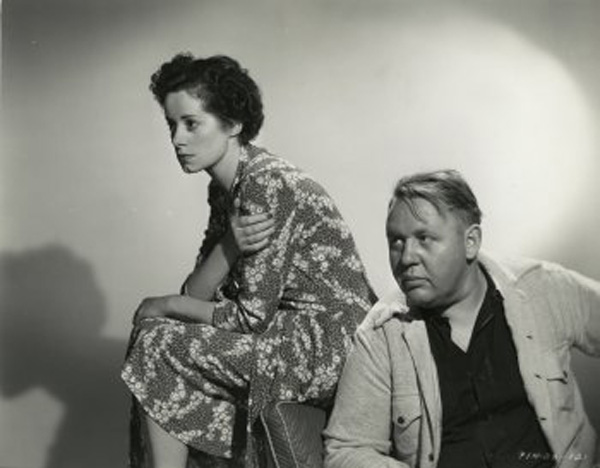 Charles Laughton and Elsa Lanchester