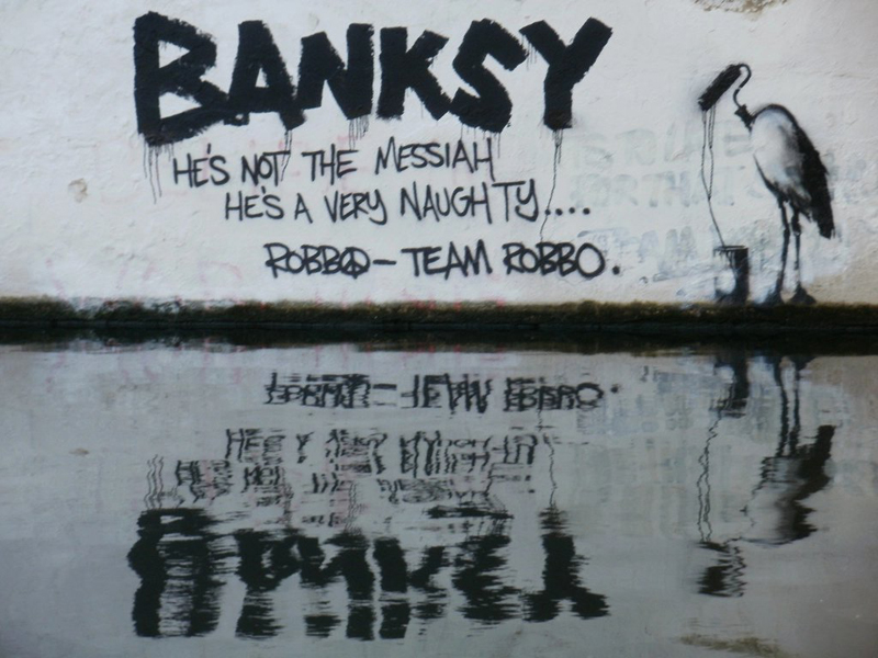 Spotting Counterfeit Banksy's