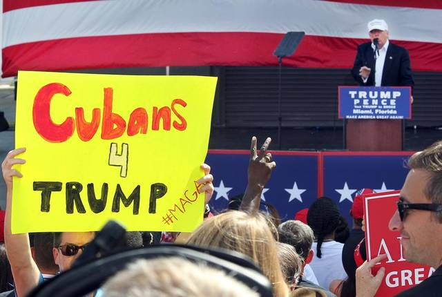 84 Percent of Cuban-Americans Voted for Donald Trump