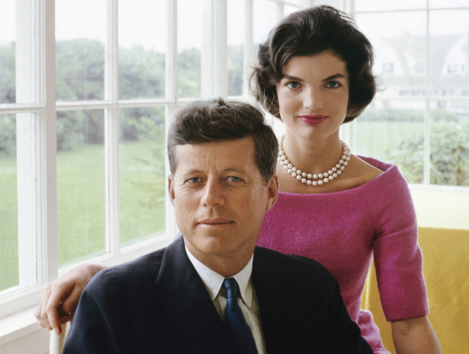 John F. Kennedy and Jackie Kennedy