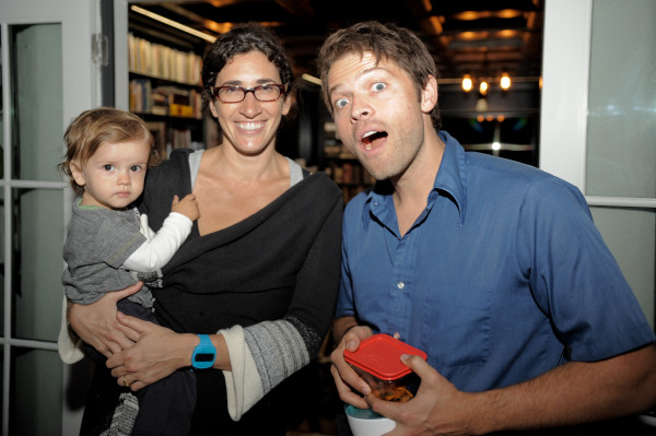 Misha Collins and Victoria Vantoch