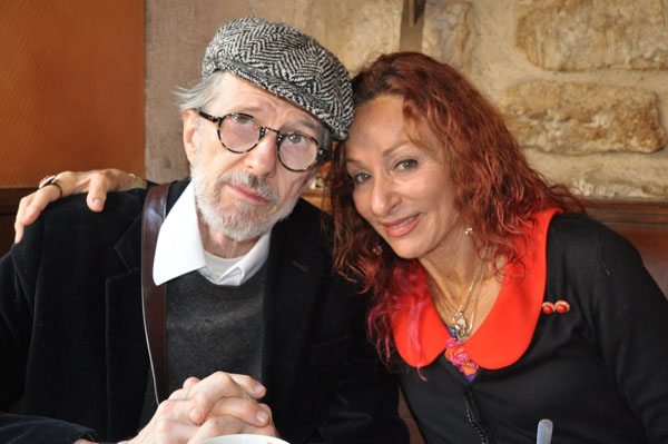 Robert Crumb and Aline Kominsky-Crumb
