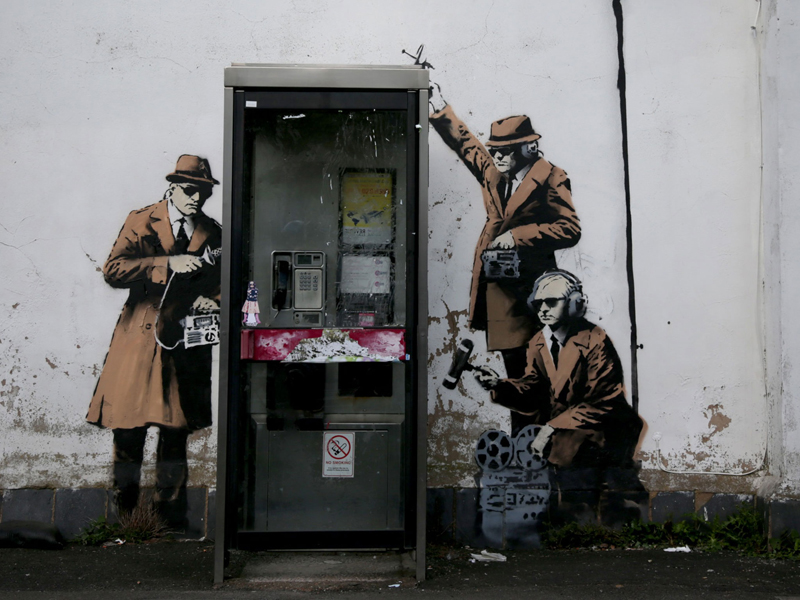 Spy Phone Booth