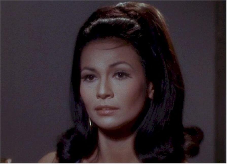 Barbara Luna as Lt. Marlena Moreau
