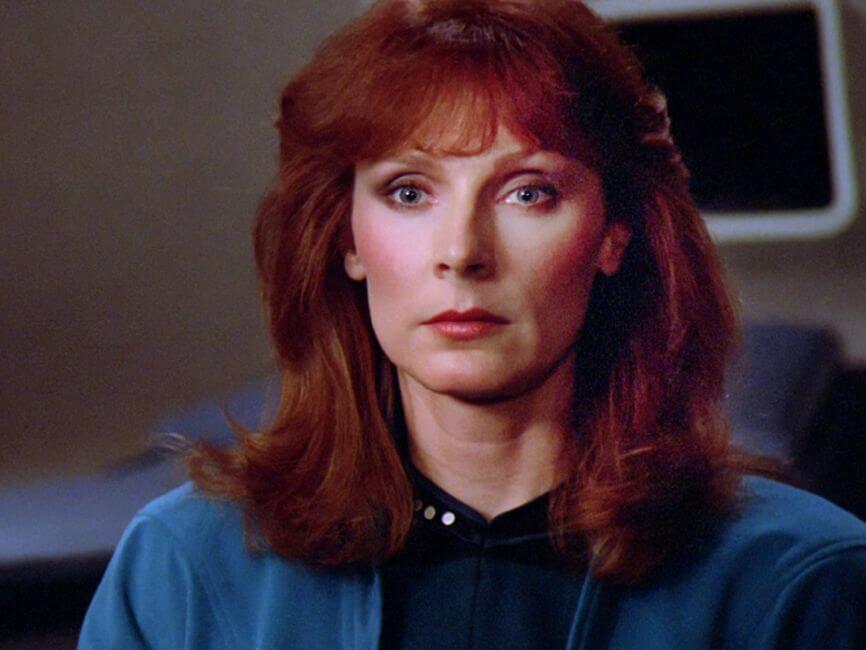 Gates Mcfadden as Beverly Crusher