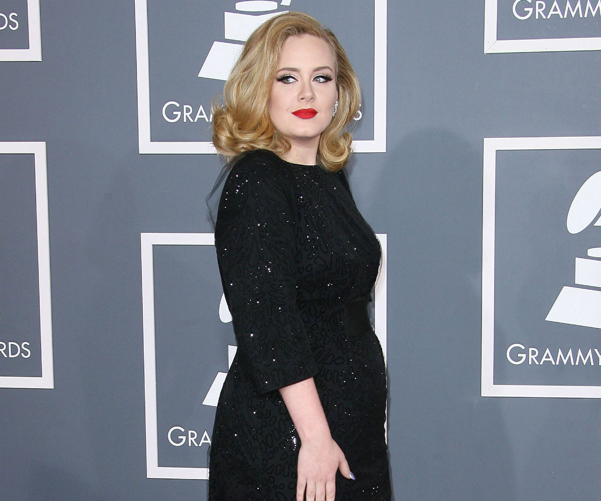 Adele Jokes about Growing a Beard While Pregnant