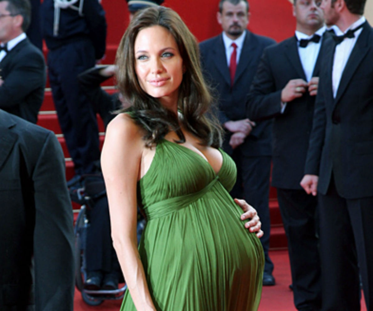 Angelina Jolie Says Being Pregnant Makes Her Feel Sexy