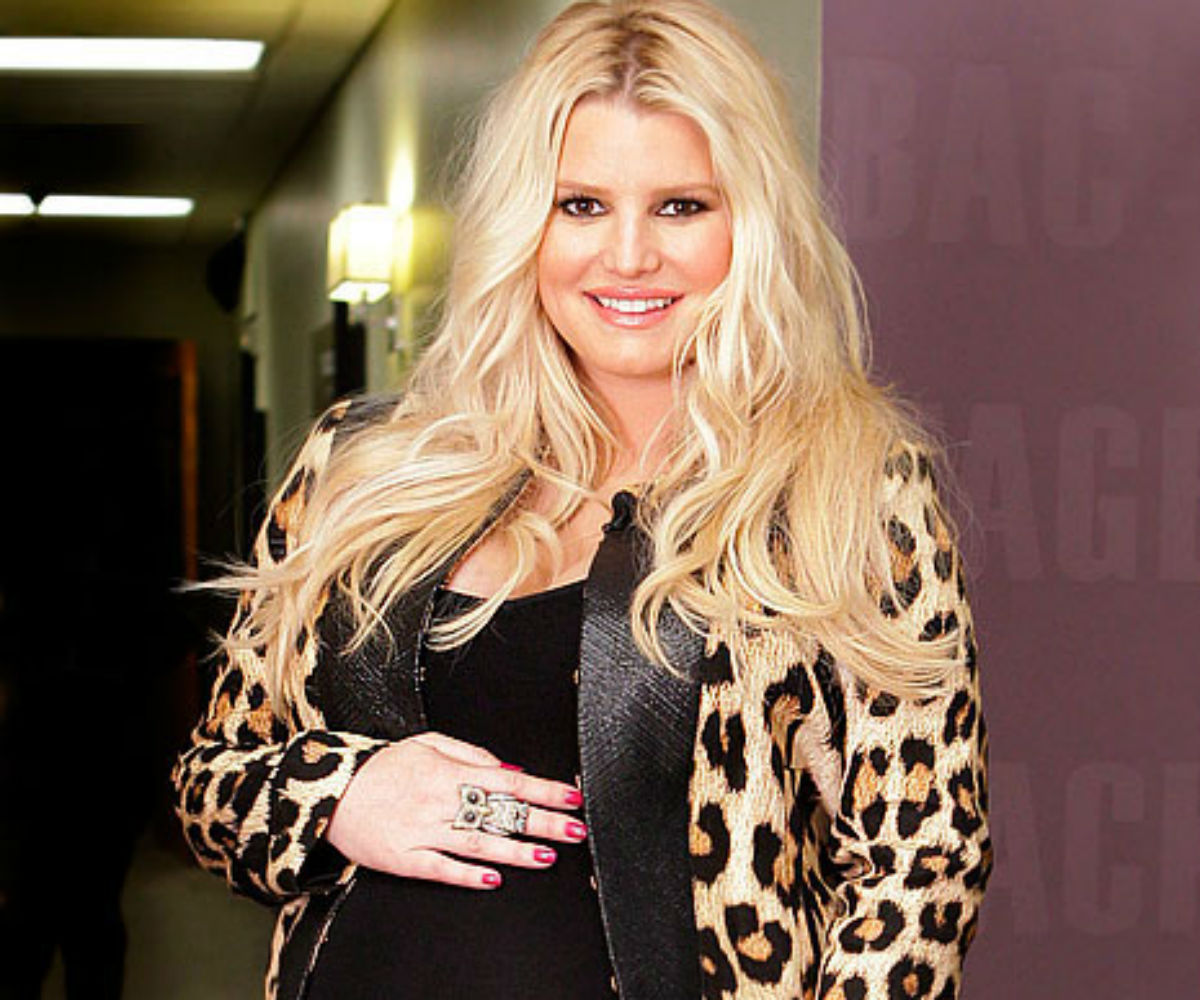 Jessica Simpson Had Weight Issues