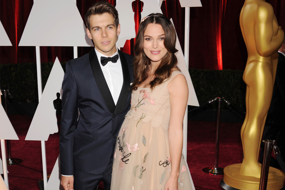 Keira Knightley Says Pregnancy Wasn't Easy