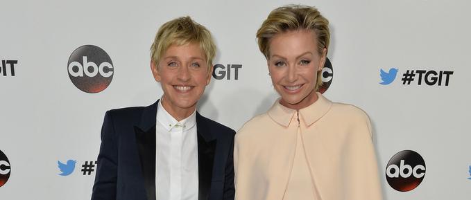 Ellen DeGeneres & Portia DeRossi