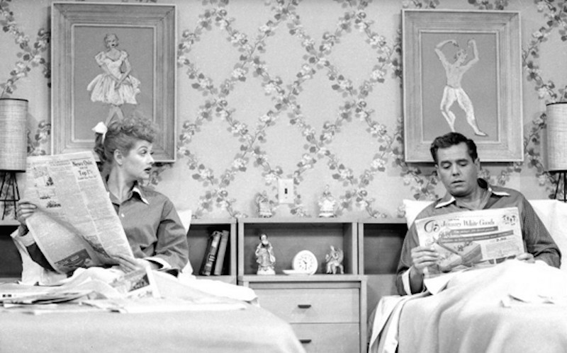 Lucy & Desi On I Love Lucy