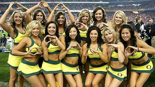 Cheerleaders' Uniforms are Always Amazing