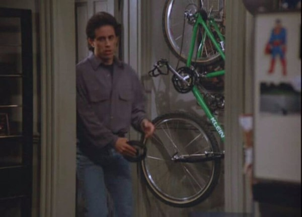 Did Jerry Seinfeld Ever Ride That Bicycle?
