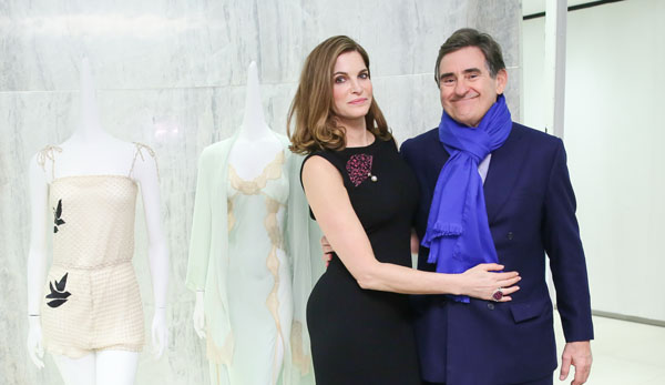 Stephanie Seymour & Peter Brant