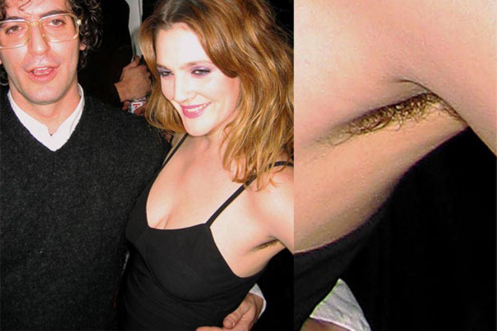 Drew Barrymore – Armpits