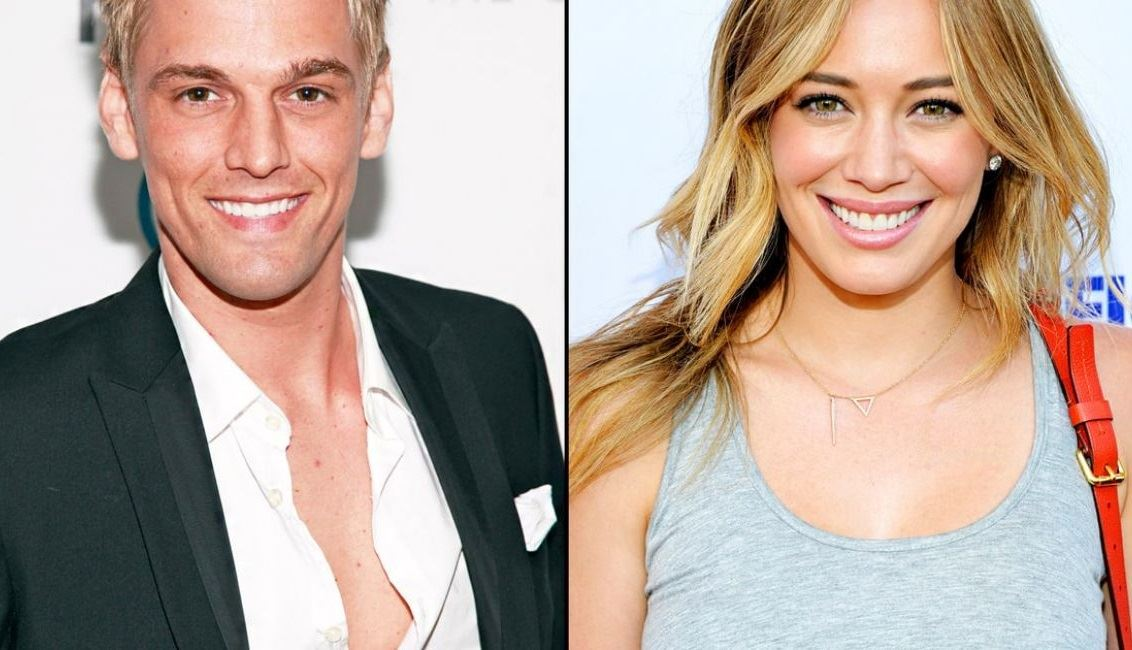 Aaron Carter by Hilary Duff