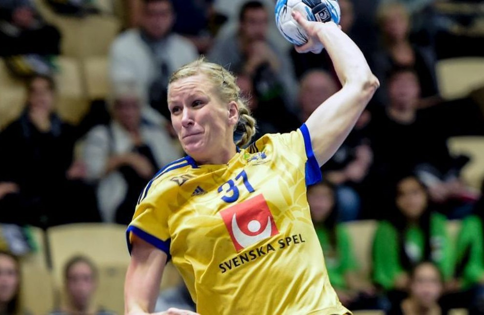 Olympic Handball Player Anna-Maria Johansson