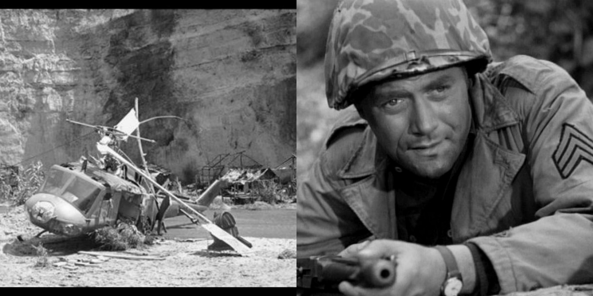 Vic Morrow In The Twilight Zone Incident
