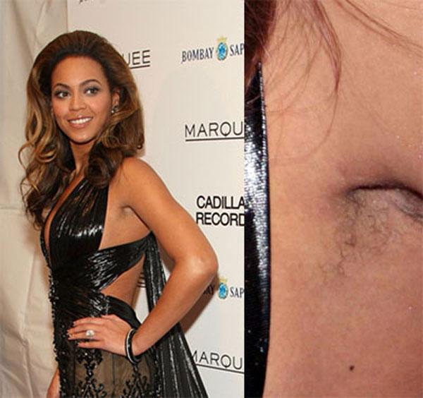 Beyoncé- Armpits
