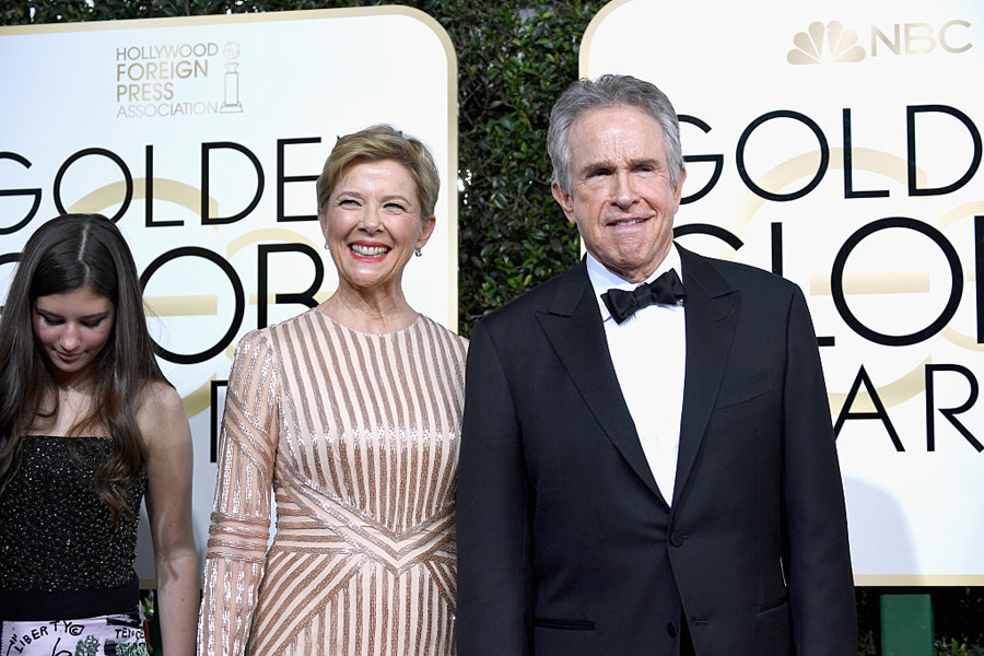 Warren Beatty and Annette Bening