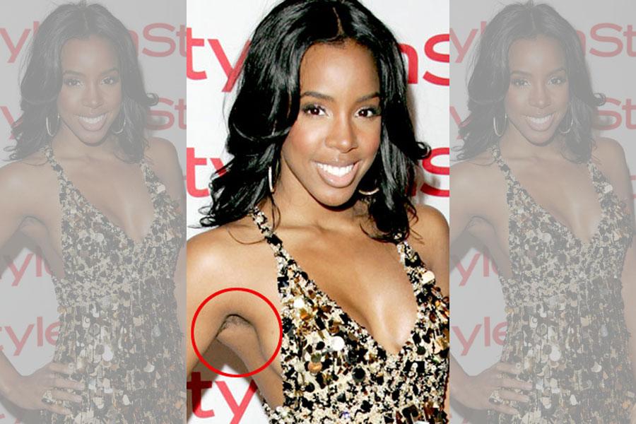 Kelly Rowland – Armpits