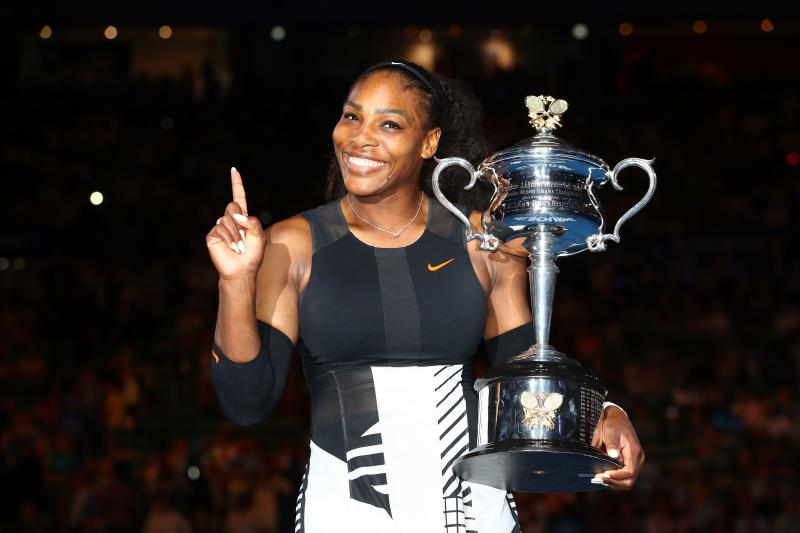 Preggo Serena Williams Wins Australian Open