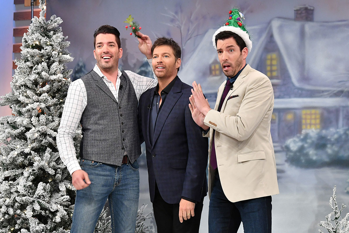 Connick Jr. And His Long Lost Property Brothers