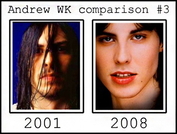 Andrew W.K. Was Replaced By An Actor Or Never Existed