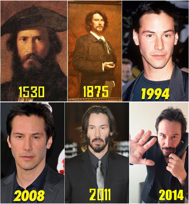 Keanu Reeves Also Dabbles In Time Travel