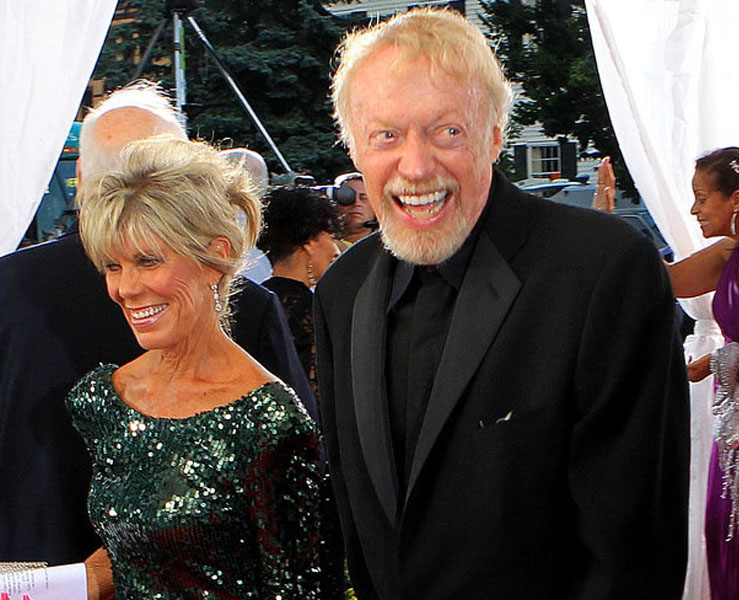 Phil Knight and Penny Knight