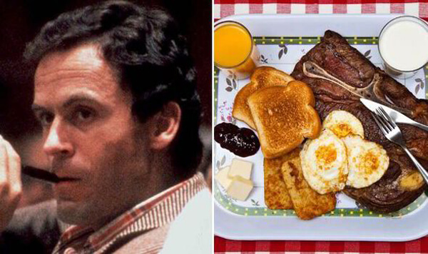 Traditional Last Meal: Ted Bundy