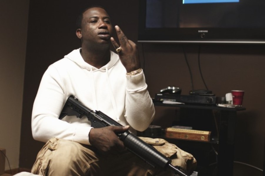 Gucci Mane Puts His Money Where His Mouth Is