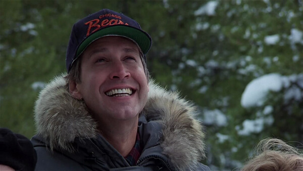 Chevy Chase Loves The Chicago Bears