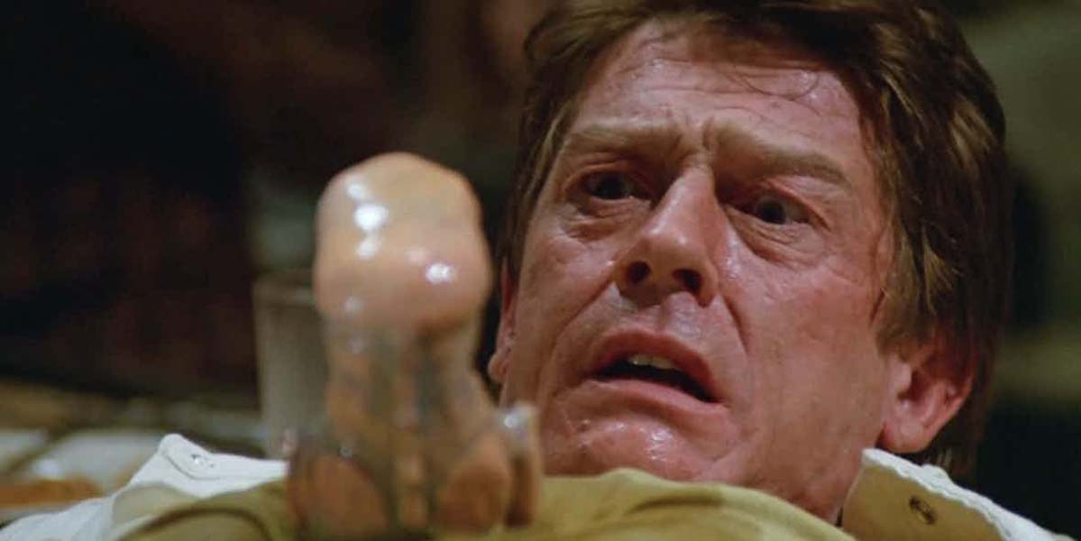 John Hurt's Spaceballs Cameo