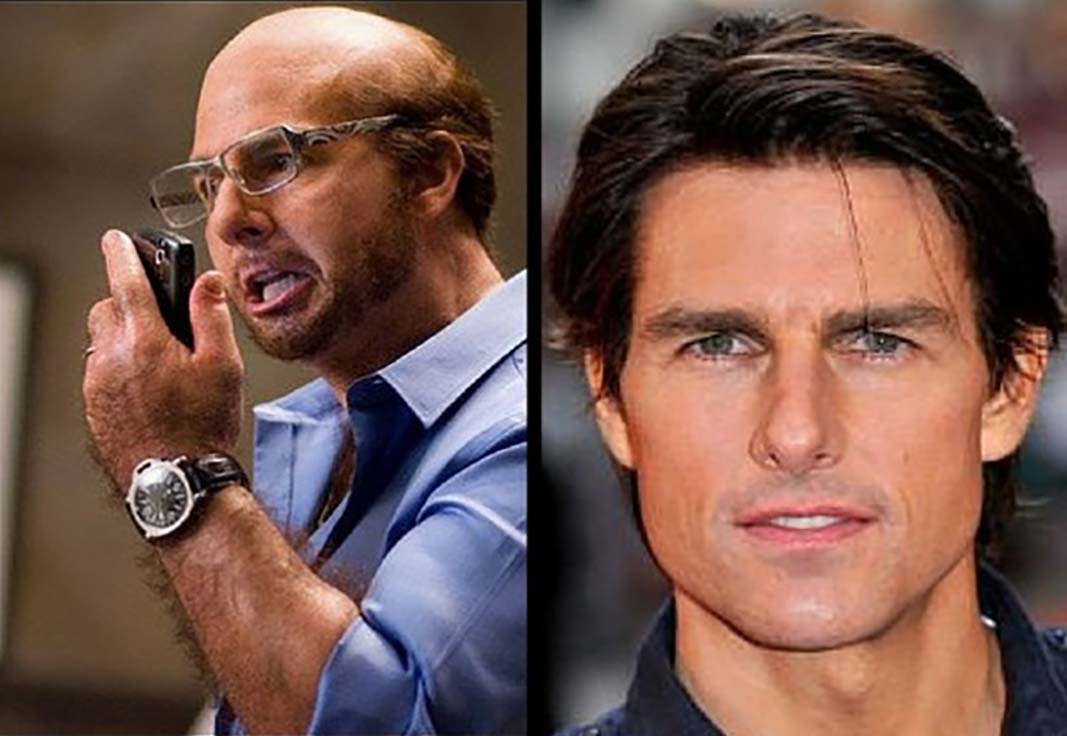 Tom Cruise Appears in Tropic Thunder
