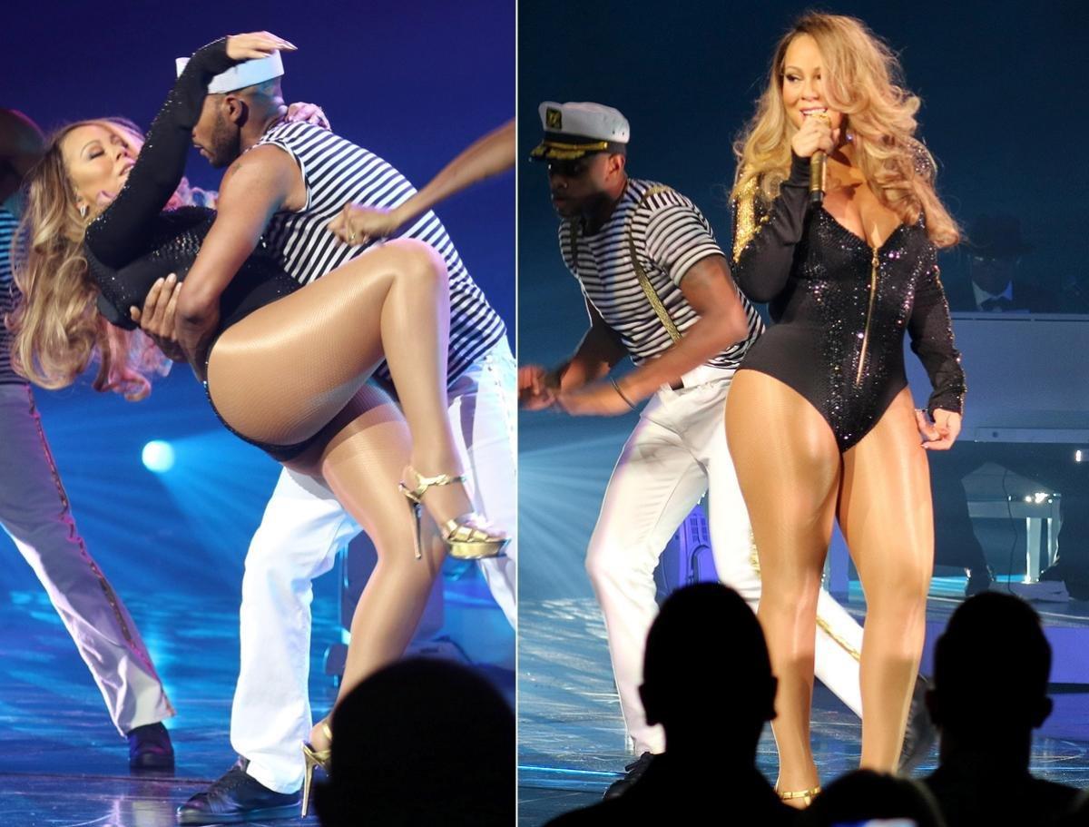 Mariah Carey – Pregnant Or Just Fat?