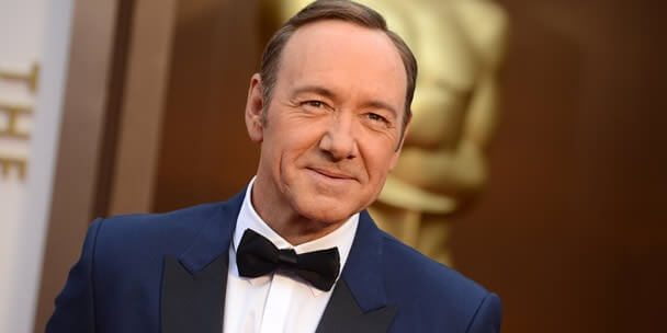 Kevin Spacey (Now)