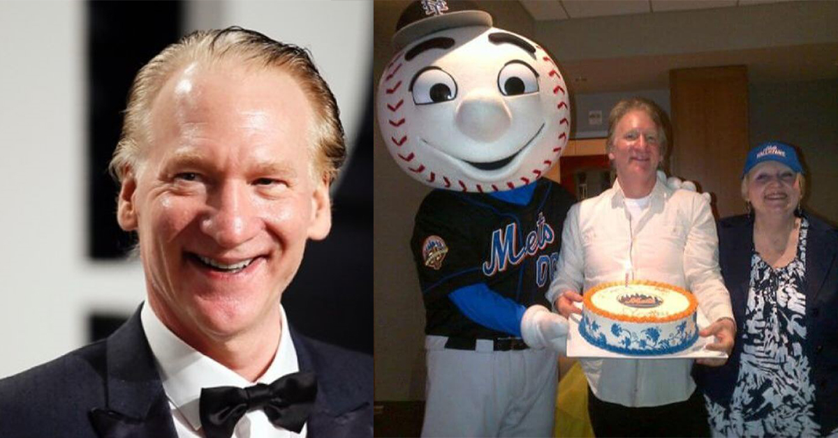 Bill Maher – New York Mets