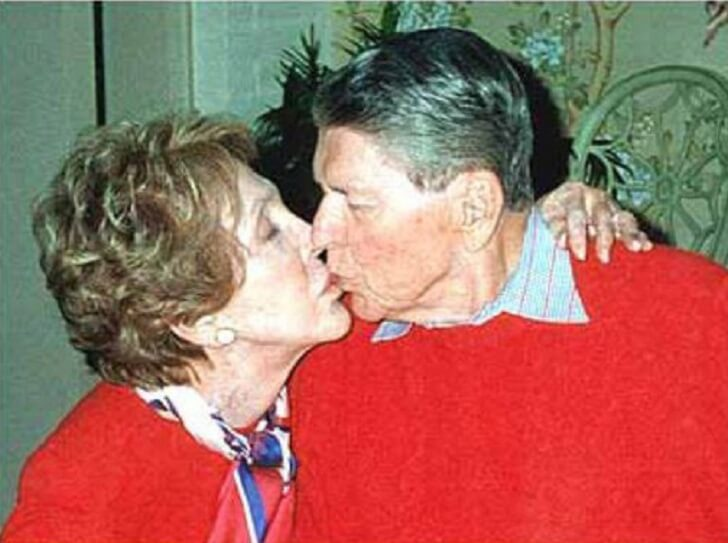 The Reagan's Last Photo Together