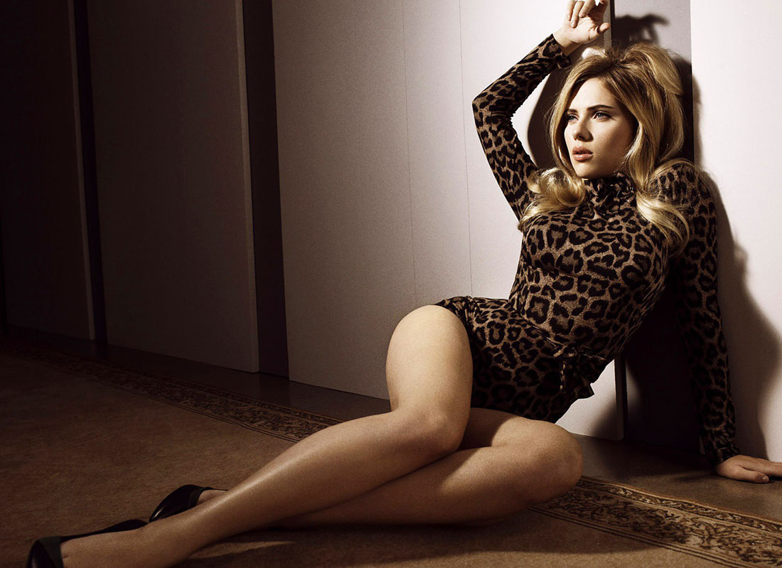 Scarlett Johansson – Too Curvy?