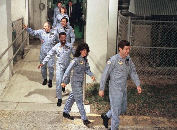 The Final Picture Of The Space Shuttle Columbia Crew
