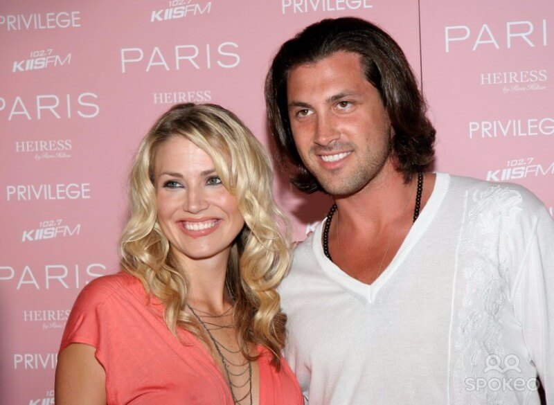 Maksim Admits To Blonde Bombshell Love