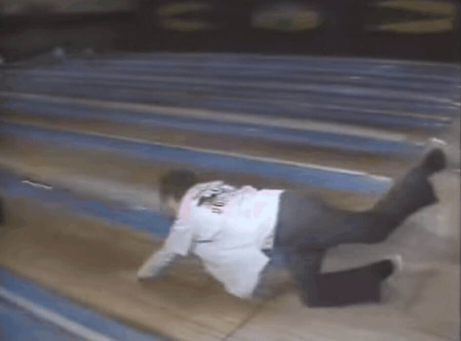 George Bush Gives Bowling a Try and Well……